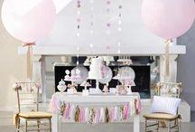 Bautizos / Inspiración para la decoración de bautizos / by My Little Party Fiestas con Estilo