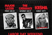 Labor Day Weekend in Vegas 2013 / Check out all the Labor Day Weekend Events that iPartyinVegas is hosting! / by Stacia iPartyinVegas