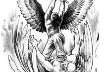 anjo tatoo