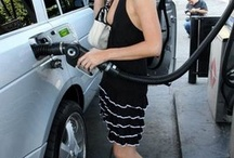 blonde celebrities pumping gas / by Rachel Seville