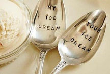 spoons to love / spoons for ice cream, spoons for fun