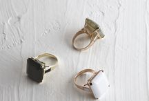 ACCESSOIRES / about all the golden and silver things ...