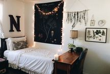 Dormitory room decor