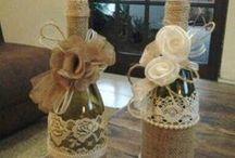 μπουκαλια με δαντελα-περλεσ-τριανταφυλα