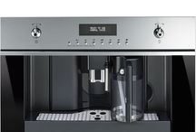 Coffee True Love / Smeg manufacture a range of built-in coffee machines and new espresso coffee machines  in ode to the Italian love for coffee