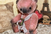 Artist bears made by others