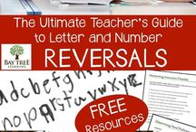 Letter and number reversals