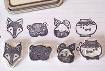 DIY stamping&painting