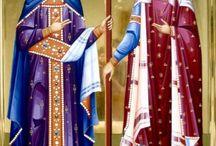Sfinții Împărați Constantin și mama sa Elena