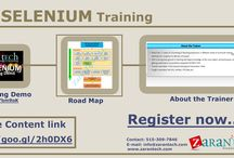 QTP Selenium / Selenium Training provided Online from USA industry expert trainers with real time project experience. Duration: 50hrs Live & Video training. Ph: 515-303-0355