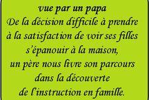 Témoignages / La rubrique Témoignage du magazine Les Plumes : les familles témoignent de leurs expériences d'instruction à domicile.
