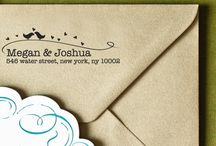 (Rustic) Wedding Invitations / Some of my favorite selections for wedding invites... These are a BIT conventional for my taste but they're super cute nonetheless :)