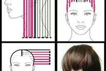 Haircuts: схемы / Haircut tutorials