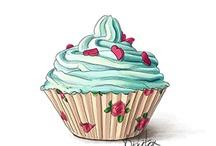 quadros cup cake