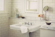 bathroom re-do ideas / by Shannon Arnold