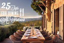 Mobelli Al Fresco Dining / Inspiration for outdoor dining