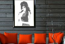 ✿ڿڰۣ(̆̃̃• Our Typography & Celebrity Art Prints •✿ڿڰۣ(̆̃̃