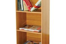 Bookcase Cupboard Shelves Sideboard Cabinet Storage Unit 3 Tier Home Furniture