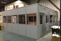 Modular Offices / Showcase installs and photos of projects we have done regarding Modular Offices & Walls