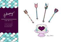 Desktop Calendars / by Garlic, My Soul