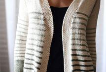 strikkede trøjer