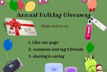 Giveaway / giveaway on facebook