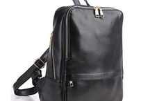 Real Leather Backpack Women