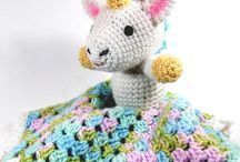 crochet: lovies & rattles/ free / by Amy Woods