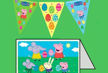 Peppa Pig Easter ideas / Keep your little piggies entertained over the Easter holidays!