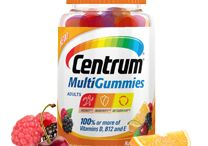 Vitamins / CentrumMultiGummies are an excellent source of Vitamin C, E,  100% or more of Vitamins B12, D, and E • Gluten-free #FREE SAMPLE