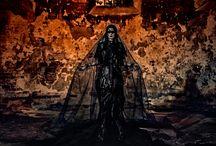 SALEM / fashion project: SALEM  dress: Magdalena Wilk-Dryło model: Marlena Walkowiak MUA: Katarzyna Kałek-Dekert concept&photo: Piotr Jan Gajewski
