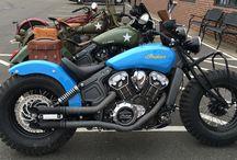 Motocykle - Motorcycle. / Motocykle