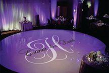 wedding floor decals