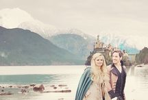 Once Upon a Time! / Captain Swan, Snowing, Outlaw Queen.  / by Michelle Moody-Rubino
