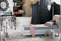 Old Hollywood Glam Bedroom