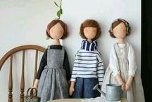 Tildas y muñecas de trapo
