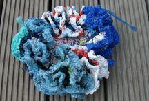 3 B Haak wedstrijd Atelier schooljaar 2014/ 2015 / Koraal haken  Thema onderwaterwereld