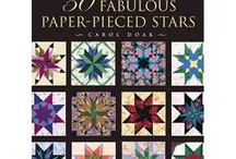 Paper Piecing Quilting / Creating quilt pieces using paper as a background...