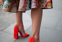 Shoes with a statement