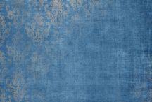 Papir til printing Blått