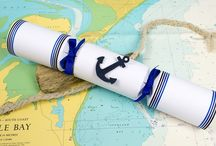 Nautical Wedding / Sun, Sea, You and Me! Seaside craft ideas for a Nautical themed wedding or event.