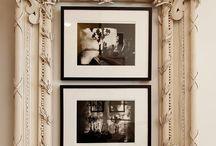 omlijsting foto's kunst schilderijen