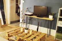 Meubles TV / Des meubles qui vous ressemblent, originaux et design réalisés par vous-même. Les pieds en épingles Ripaton sont fait main dans notre atelier à Montpellier. Ils sont solides et peuvent supporter des poids allant jusqu'à 50Kg par pieds.  Découvrez notre gamme de produits sur notre site internet www.ripaton.fr