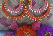 Bombay-cotons création / Bollywood inde danse boucle d'oreille bellydance