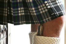 Tartans & kilt / Vêtements écossais  / by Ale Dev