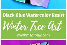 kids water color