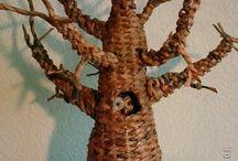 дерево плетение