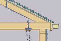 dach / Nawet w najnowocześniejszym pokryciu dachowym może dojść do rozszczelnienia warstw podczas ulewnych deszczy, a w efekcie do przeciekania sufitu. Jeśli chcesz mieć pewność, że szybko i bez problemu zlokalizujesz przeciek, sprawdź, które punkty dachu są najbardziej podatne na uszkodzenia. Ważna jest szybkość w lokalizowaniu źródła przecieku, jednak wszelkie naprawy najlepiej wykonywać na suchych powierzchniach, lub używać środków, które działają mimo wilgoci.