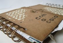 "Mini-Album ""Like home"" / my workshop for Papers de Sucre."
