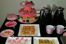 High Tea inspiration / DIY, recipes, decorations